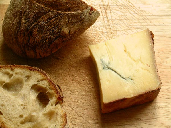 Escoger pan para cada tipo de queso.